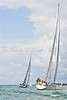 """GBR 809 """"Lutine"""" Llloyds Yacht Club at start of IRC 2 class race AAM Cowes Week 2014"""