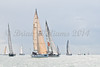 "GBR 4778R ""EH01""  at start of racing AAM Cowes Week 2014"