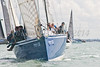 "GBR 236R ""Erivale III"" at stsart of racing AAM Cowes Week 2014"