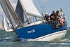 "GBR 7207T ""Playing Around"" racing aat AAM CowesWeek 2014"