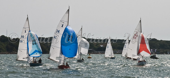 """X One Design racing X80 """"Lass"""" at AAM Cowes Week 2014"""