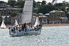 "GBR 2L ""The Sirens"" preparing to race AAM Cowes Week 2014"