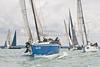 """GBR 236R """"Erivale III"""" at stsart of racing AAM Cowes Week 2014"""