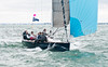 """GBR100X """"Thunder Squall"""" racing at AAM Cowes Week 2014"""