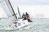 "GBR2738R ""Vixter"" racing at AAM Cowes Week 2014"