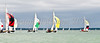 Victroy class yachts racing at AAM Cowes Week 2014