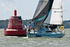 "Limbo 6.6, GBR 6623R ""Eau De Vie"" racing at AAM Cowes Week 2014"
