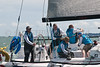 """J/111 """"British Soldier"""" """"Toe in the Water"""" GBR8191R racing at Cowes Week 2014"""