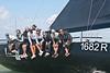 "The Humphreys Yacht Design Grand Prix 42, (GP42) ""Tokoloshe II"" GBR 1682R racing at AAM Cowes Week 2014"