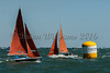 Squib ; 631 PORTSMUTH SAILING TRUST 1, 473 GREENFLY  sailing at Cowes Week 2016 day 1