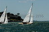 Solent Sunbeam;  V36, MELODY, V62 FIREFLY  sailing at Cowes Week 2016 day 1