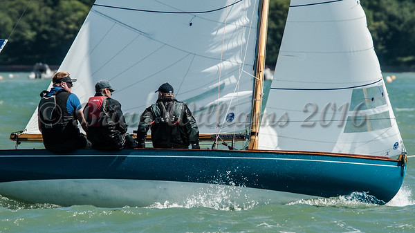 X One Design; X80 Lass at the Royal Squadron start line.