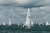 "Etschells; GBR1439 ""Bon Vivant""  on the  start line day one of Cowes Week 2016."