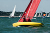Redwing; (36) Siskin sailing at cowes week day 1 2016