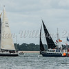 Irc 4; Yachts at brambles start line, Cowes Week 2016, day 3