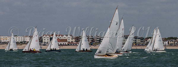X One Design XOD; X8 ANNEX, X86 AORA, X173 TONIC / HEYDAY, Cowes Week 2016, day 4