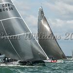 Fast 40; GBR8449R REBELLION, Cowes Week 2016, day 5