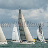 Irc class 2; GBR2806L WINSTON, GBR6840R STARRY NIGHT, GBR3234L EUROTANK, GBR7408R ARTHUR, Cowes Week 2016, day 5