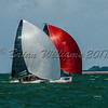 SB 20 OMAN SAIL 3 racing at Lendy Cowes Week 2017
