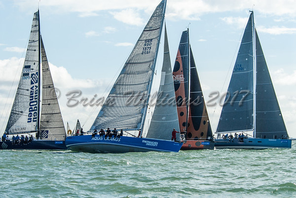 IRC 0 start day 4 at Lendy Cowes Week 2017