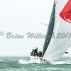 """Christian Zugel's Mat 1180 """"Tschuss"""" USA 61180 competing in the Sevenstar Triple Crown series at Lendy Cowes Week 2017"""