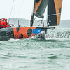 "Harold Vermeulen's Mat 1180 ""Leeloo"" NED 8882 competing in the Sevenstar Triple Crown series at Lendy Cowes Week 2017"