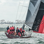 Bernard Langley's TP52 GLADIATOR GB11152L  at Lendy Cowes Week 2017