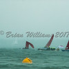 Bembridge Redwing's hit by squall at Lendy Cowes Week 2017