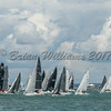 Combined IRC start at Lendy Cowes Week 2017