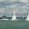 Dragon's racing at Lendy Cowes Week 2017