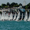 J/70, Start of Lendy Cowes Week 2018 Day 2 race.
