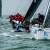 IRC Zero, Lady Mariposa leads Gladiator off the Brambles start line, Lendy Cowes Week 2018 Day 7