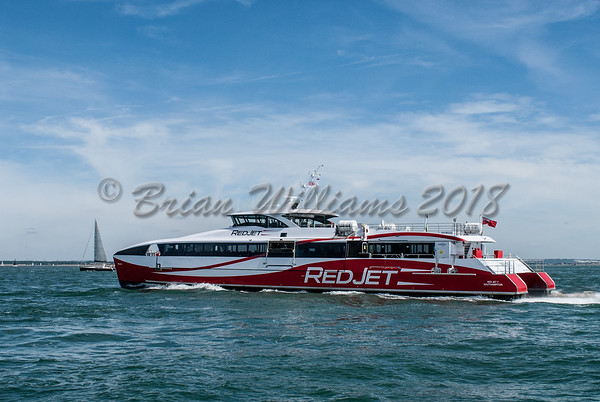Red Funnel Red Jet 7