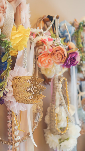 Floral Crowns & Jeweled Headbands