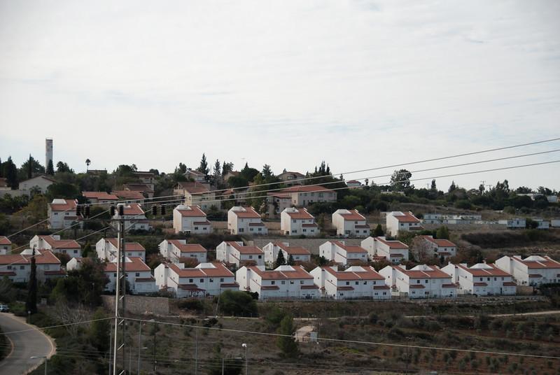 An Israeli settlement 以色列殖民區
