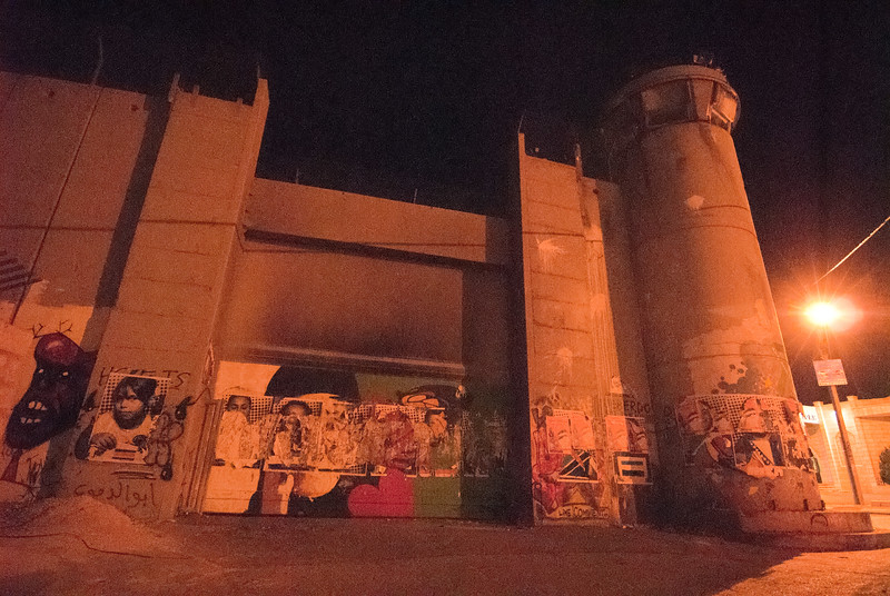 The separation barrier in Bethlehem 在伯利恆的隔離牆
