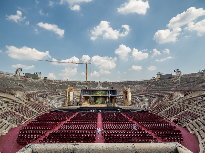 Setting the Stage, Verona, Italy