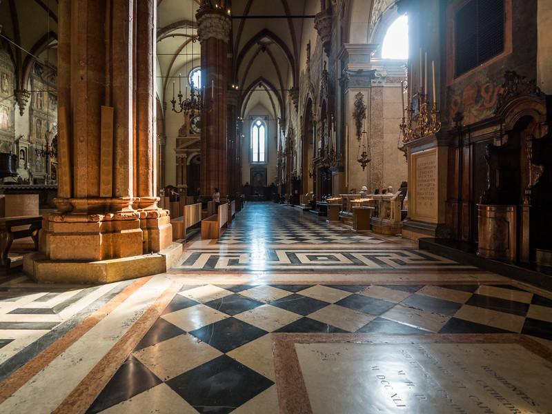 Light and Darkness, Verona Duomo, Italy