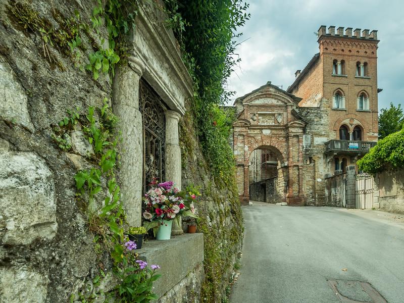 At the Porta Rugo, Belluno, Italy