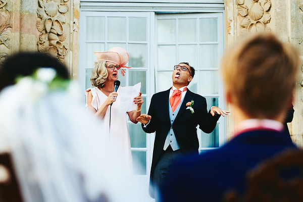 Le discours des parents des mariées