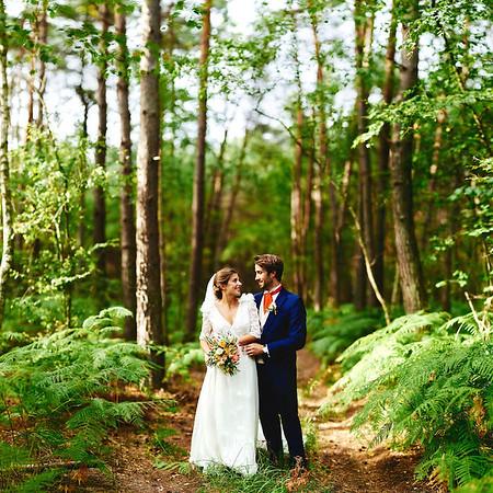 Les mariée dans la foret