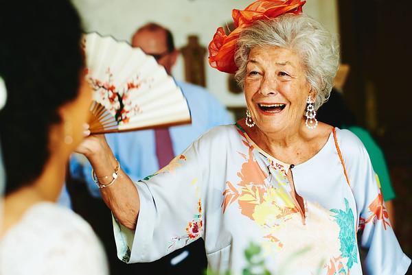 La grand-mère de la mariée