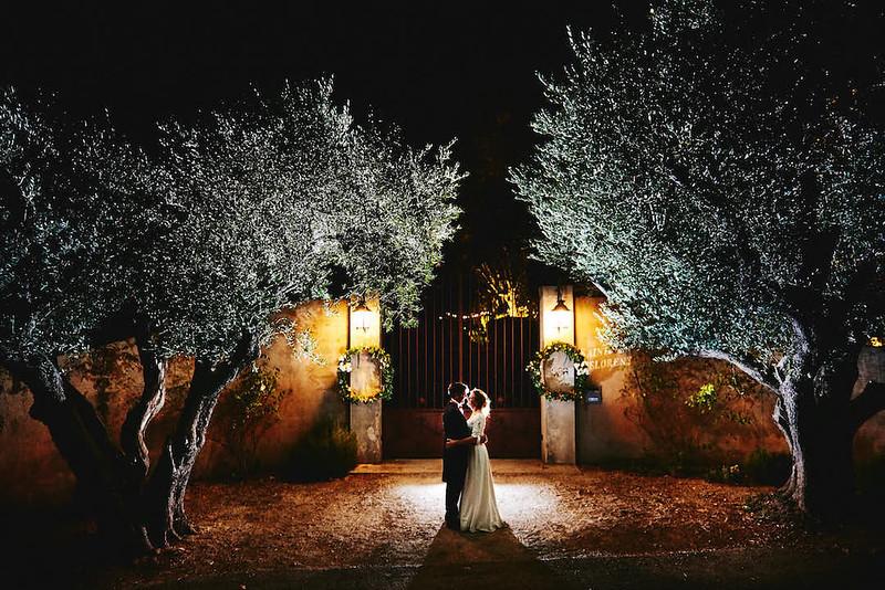 Photo de nuit mariage a Toulon