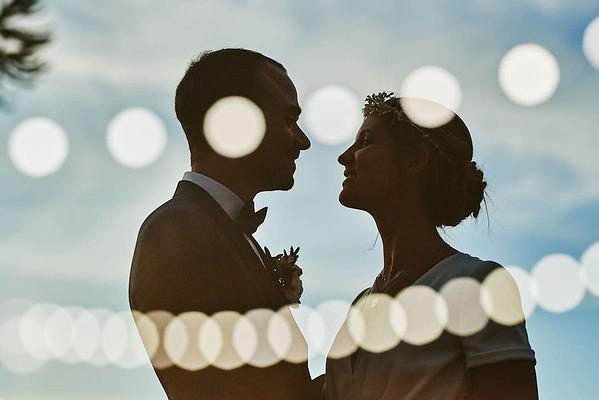 Double exposition des mariées