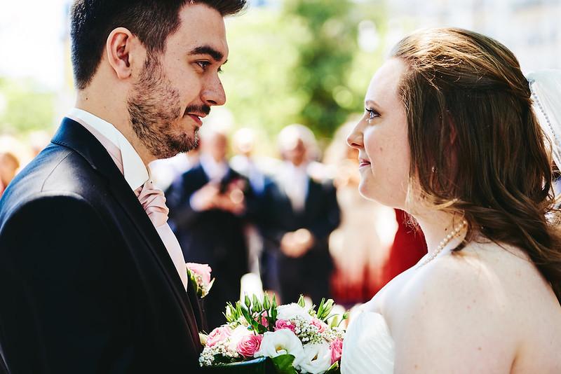 Le mariées en tête à tête