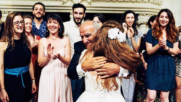La mariée et son beau-père