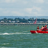 Redwing RED GAUNTLET II  at loose mast at Lendy Cowes Week 2017