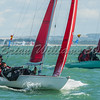 Redwing SNOWGOOSE II racing at Lendy Cowes Week 2017