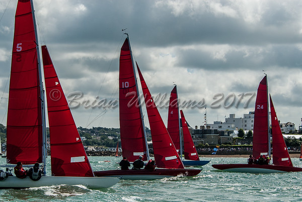 Redwing racing at Lendy Cowes Week 2017