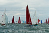 XOD one design and Redwings taking part in racing ay 8 Cowes week 2013